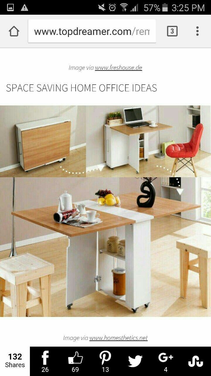 Breakfast Dining Folding Table Furniture Storage Workdesk Craft Table