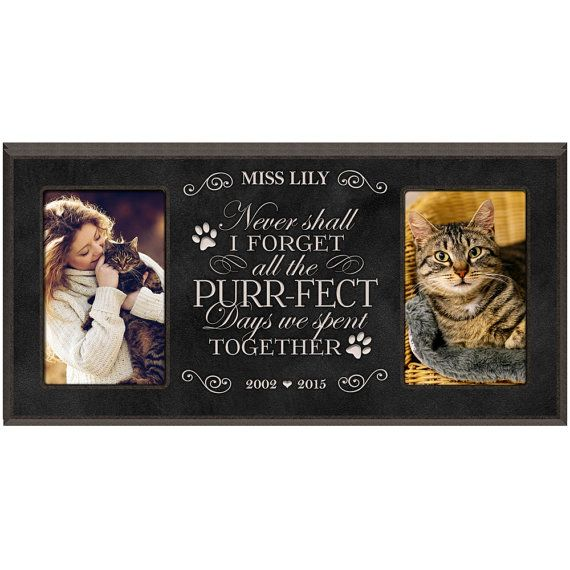 in loving memory gifts personalized photo framecat picture frame cat memorial gifts