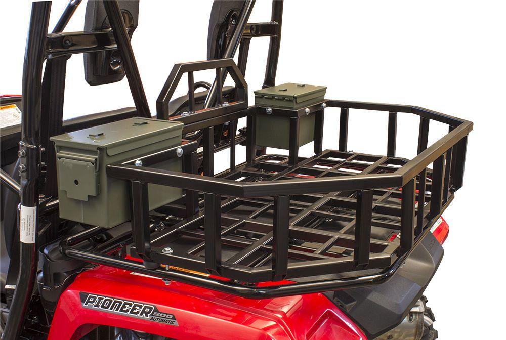 Honda Pioneer 500 Rear Cargo Rack Honda Pioneer 500 Storage Rack Honda Pioneer 500 Honda Pioneer 1000 Cargo Rack