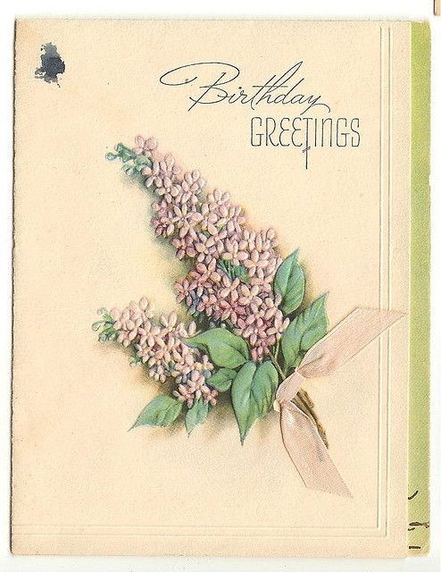 ANTIQUE GREETING CARDS...1930's by bitsorf Thank you for your visits!, via Flickr