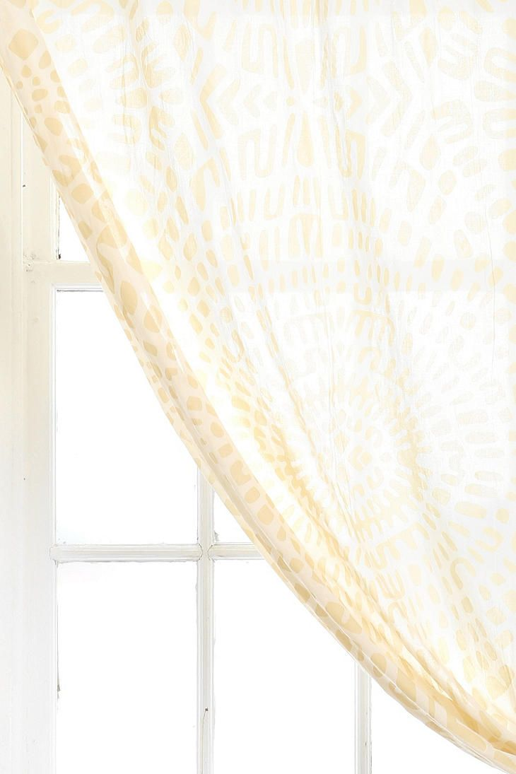 Magical Thinking Dotted Medallion Curtain Love This Color And Patterm Urbanoutfitters
