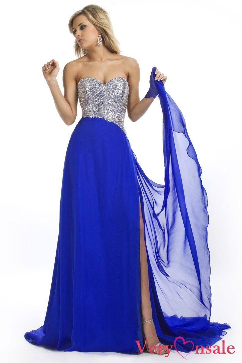 Cheap Royal Blue Dresses