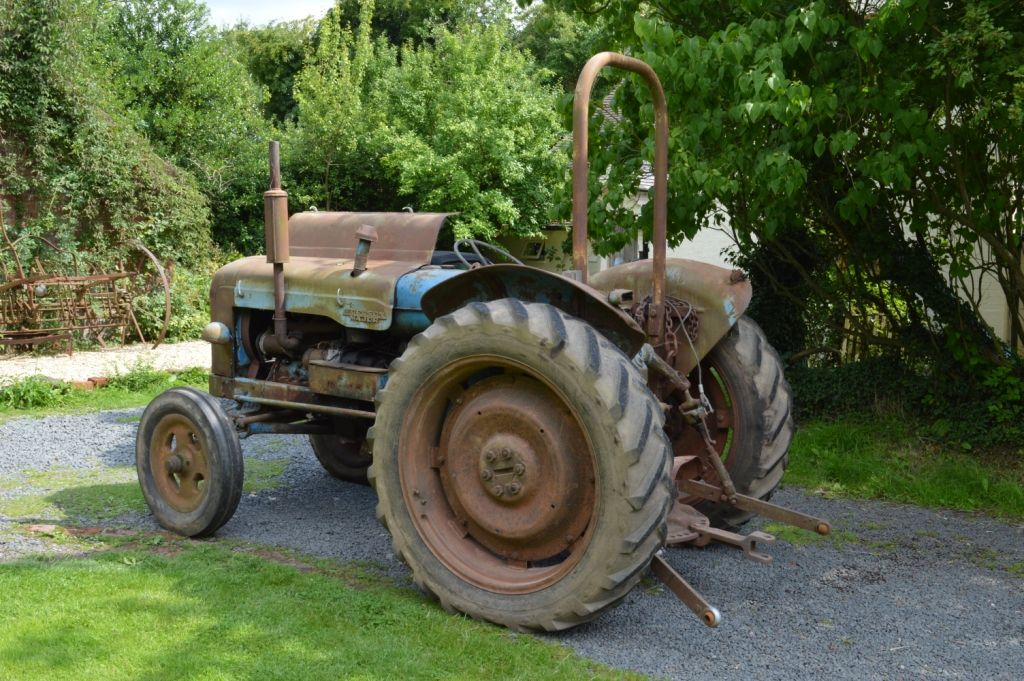 1957 Fordson Major Diesel Tractor : Fordson major the tractor lad