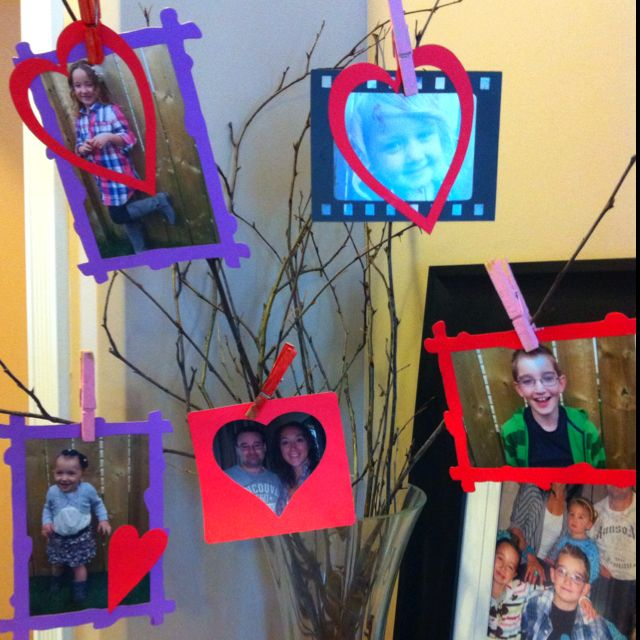Pinterest craft for Valentines day. So easy for kids!