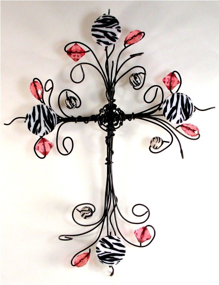 Wire cross | Wire jewelry | Pinterest | Wire crosses, Craft and Wire art