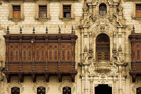 Archbishops Palace, Lima, Peru
