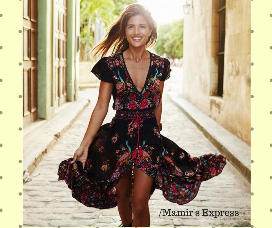 Bohemian Summer Style Boho Chic 2017 Clothing Dresses Online