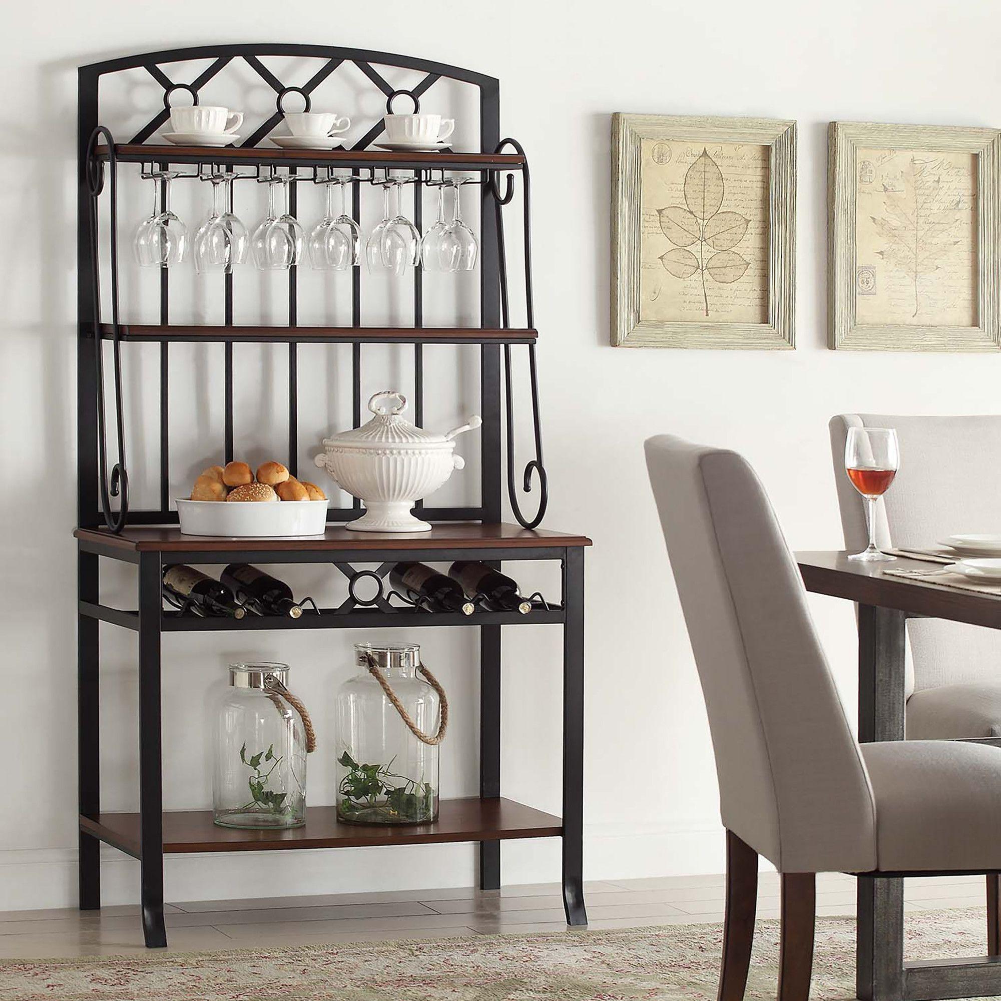 Lillianna Steel Baker S Rack Bakers Rack Furniture Home