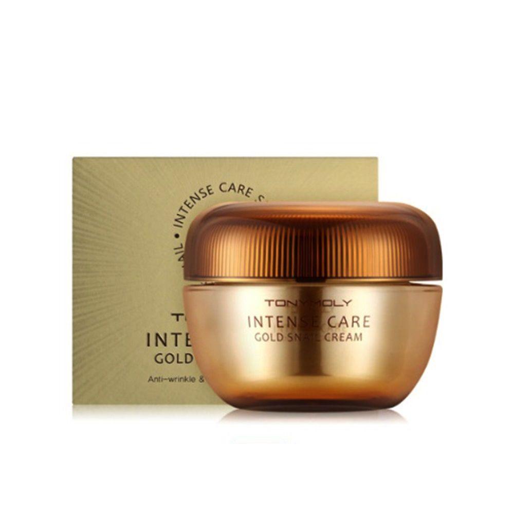Tonymoly Intense Care Gold Snail Cream 45ml 1 52oz Tonymoly 333korea Skincare Beauty Koreacosmetics Cosmetics Oppacosmetic Snail Cream Tony Moly Cream