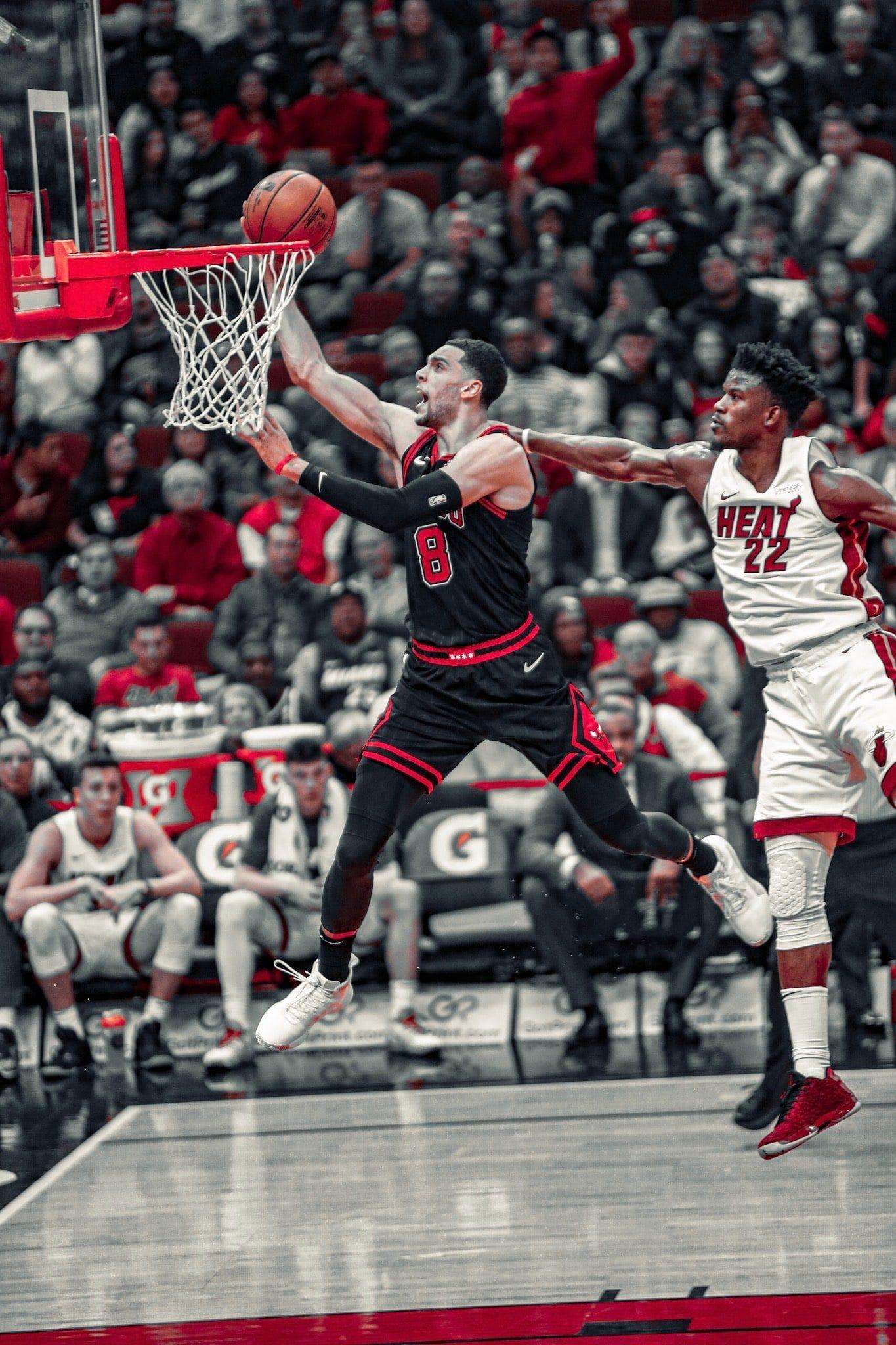 Photo Gallery Statement Night Vs Heat Chicago Bulls Chicago Bulls Basketball Zach Lavine