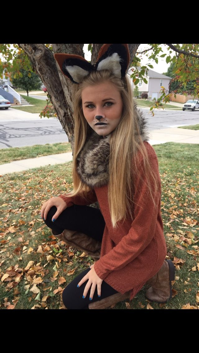 Fox Costume; jut the outfit for a costume. I already pinned the snout ears and tail  sc 1 st  Pinterest & Fox Costume; jut the outfit for a costume. I already pinned the ...