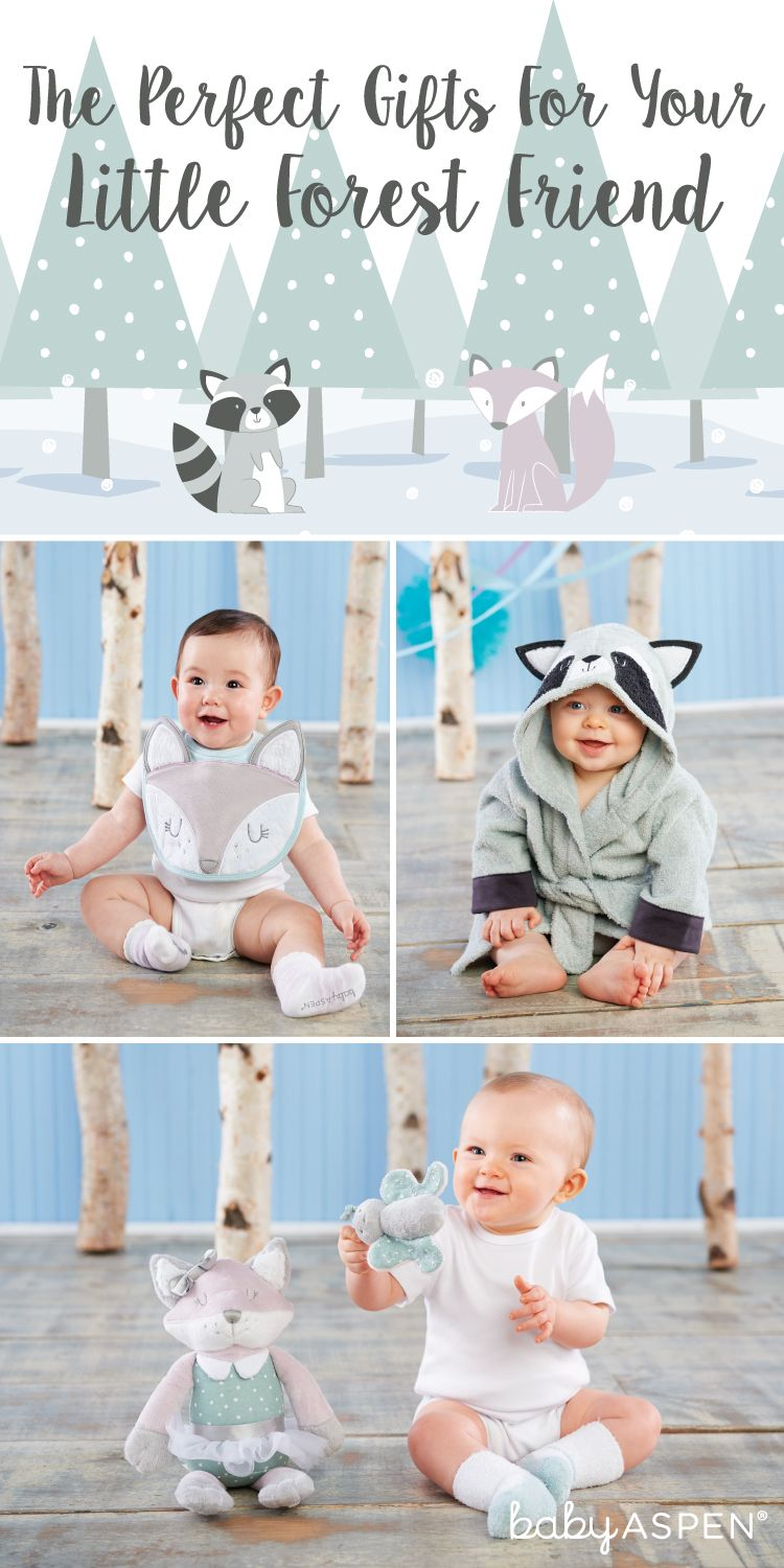 The Perfect Gifts For Your Little Forest Friend Baby Aspen Blog Woodland Theme Baby Baby Aspen Forest Friends
