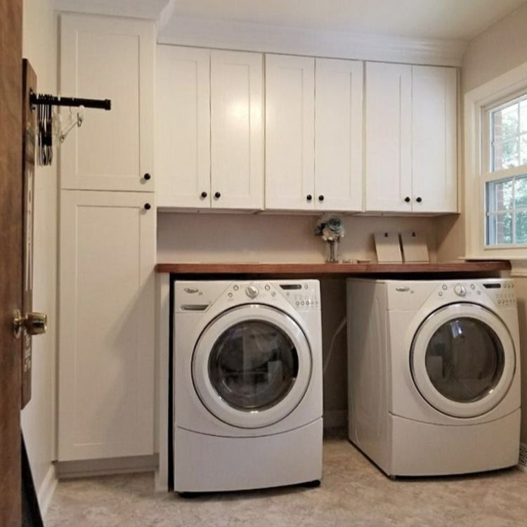 Pin On Laundry Rooms By Woodmaster Custom Cabinets