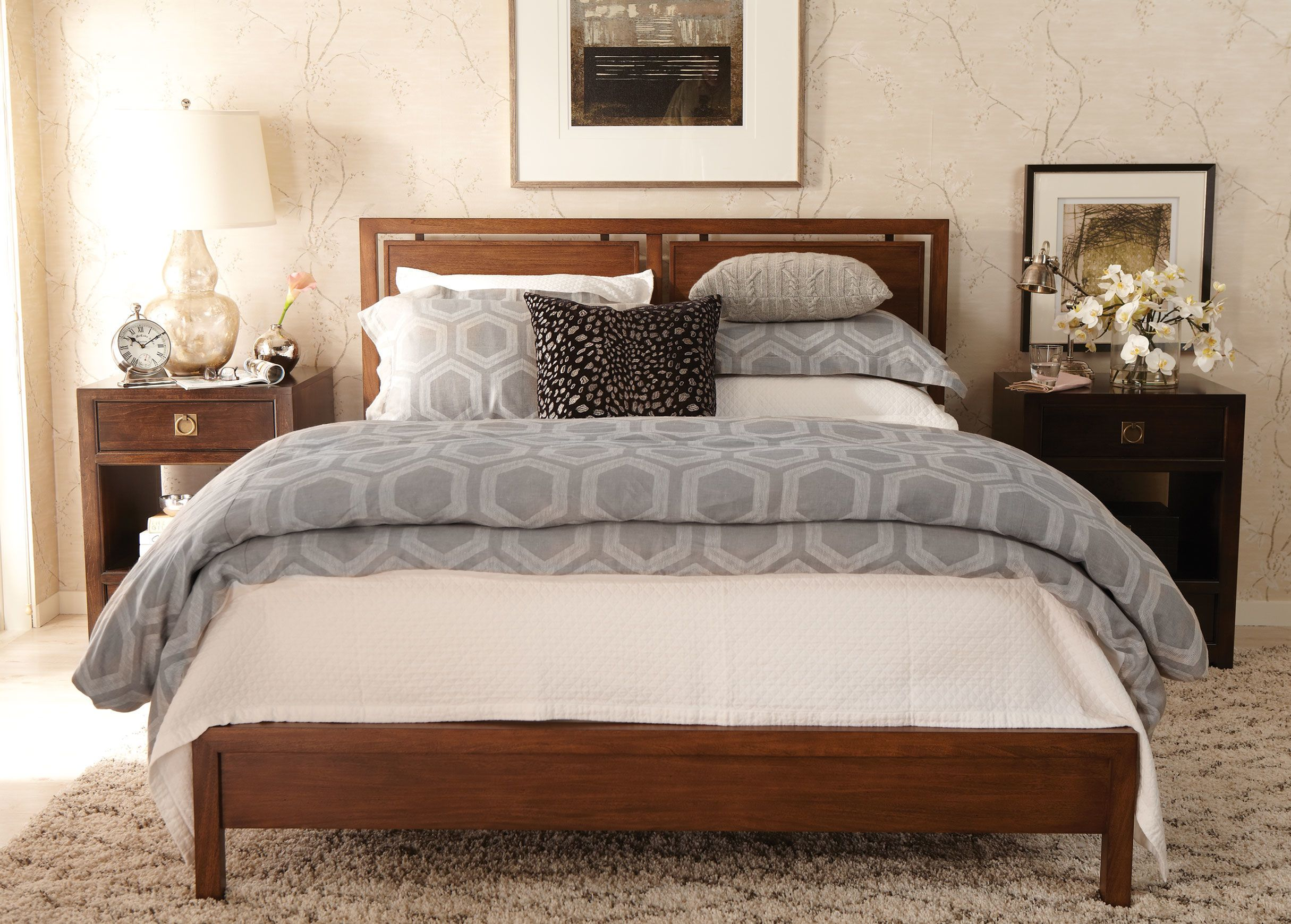 Taran Bed Ethan Allen our first home Pinterest Linen duvet