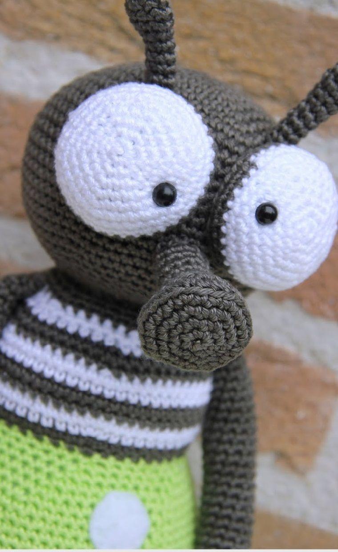 Кукляндия: Комар Виктор | амигуруми | Crochet Toys ...