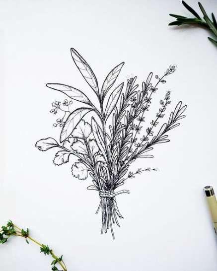 Mazzo Di Fiori Tatuaggio.Flowers Drawing Simple Bouquet Of 39 Ideas Drawing Flowers Con
