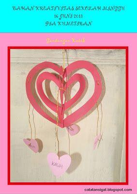 Bahan Kreativitas Sekolah Minggu 16 Juni 2013 Pia Kumetiran Gantungan Kasih Sekolah Minggu Sekolah Minggu