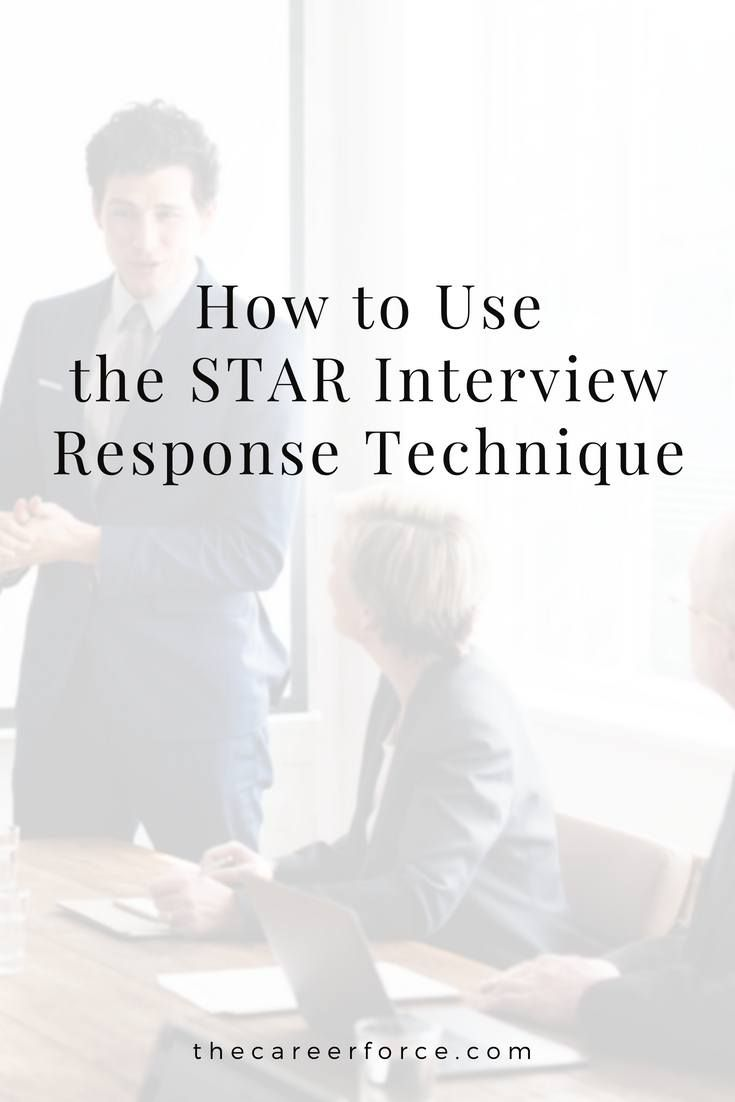Best Interview Answer Technique - The STAR Method | Resume ...