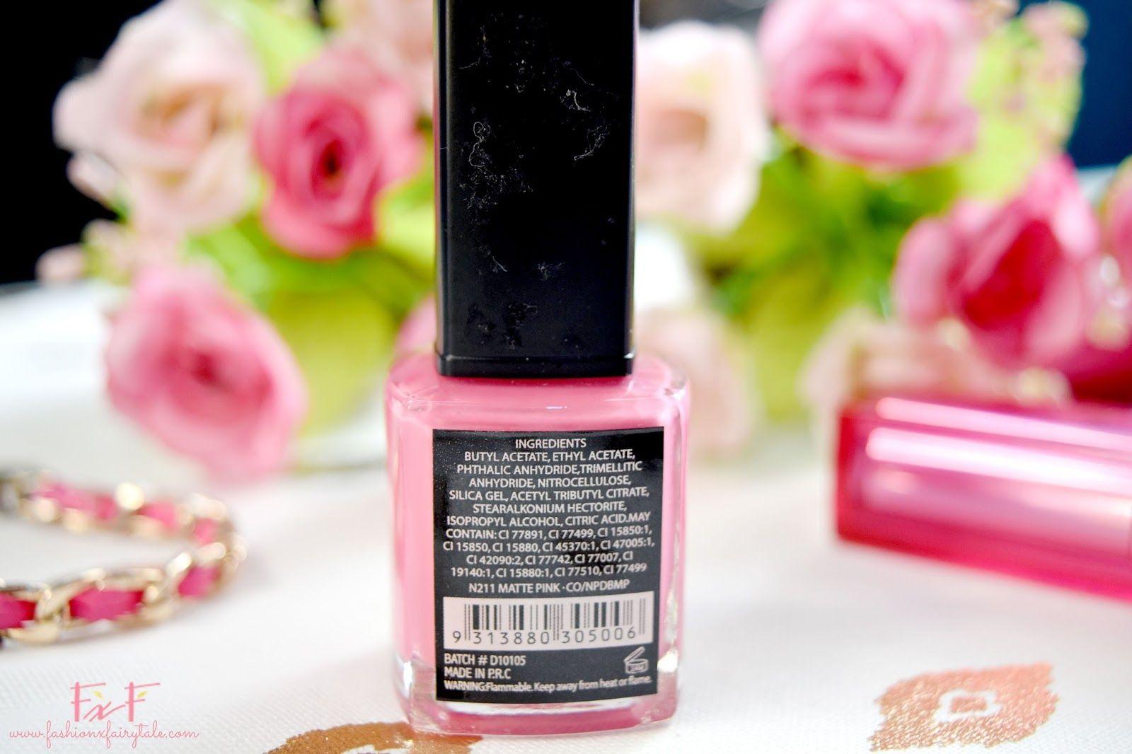 BYS Matte Pink Nail Polish Review | Matte pink nails, Pink nails and ...