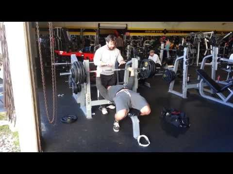 400 Pound Benchpress Natural Youtube Bench Press Easy Workouts Fitness Blog
