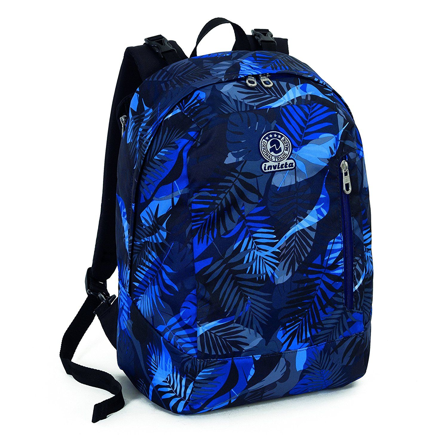 ceea9fcaa85 ZAINO REVERSIBILE INVICTA TWIST - EXOTIC - Blu 26Lt: Amazon.it ...