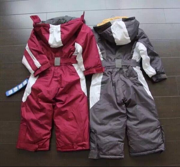 76a4559e9041 Click to Buy    winter Rompers kids clothing boy outdoor waterproof ...