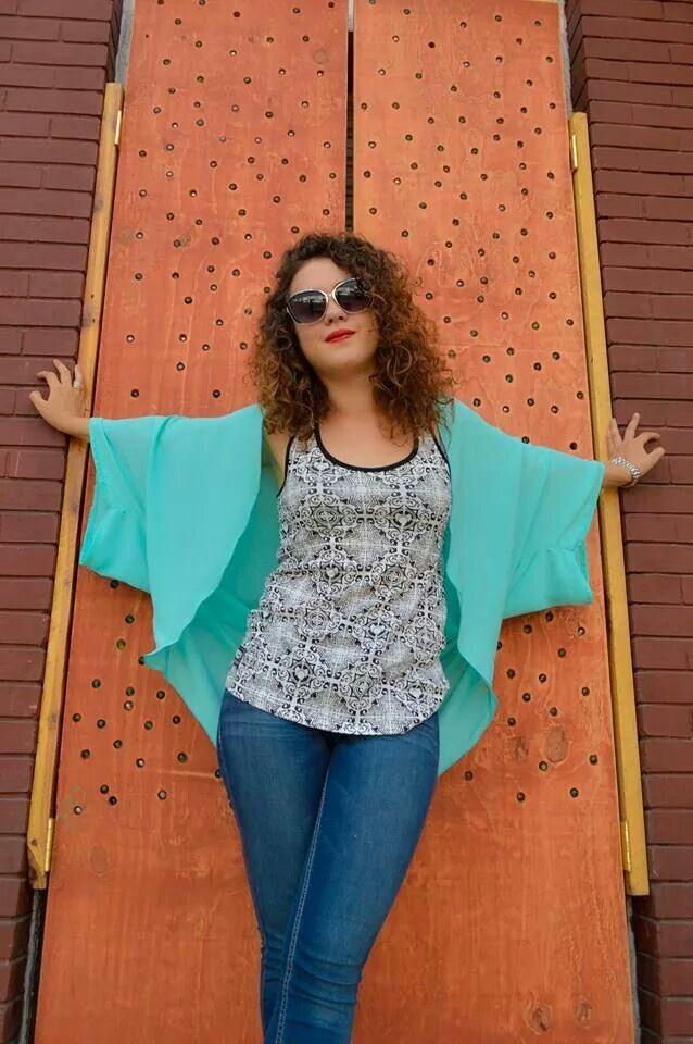 Tank Top : MexicanFashion  Kimono : NorthLine Lentes : Bona  ✌ ❤