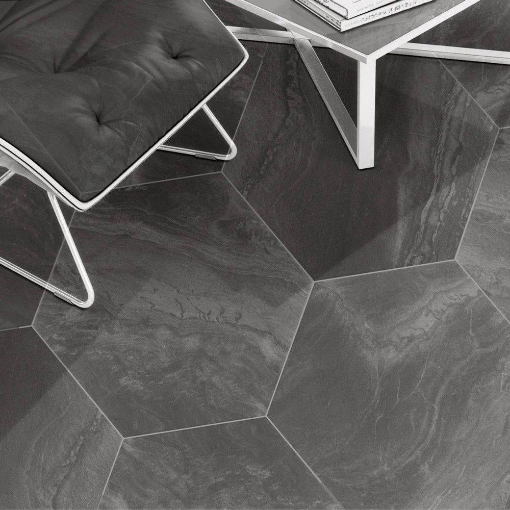 Baldosa de gres porcel nico para pavimento medida de 56x56 con textura mate en 2 tonalidades de - Medidas de baldosas ...