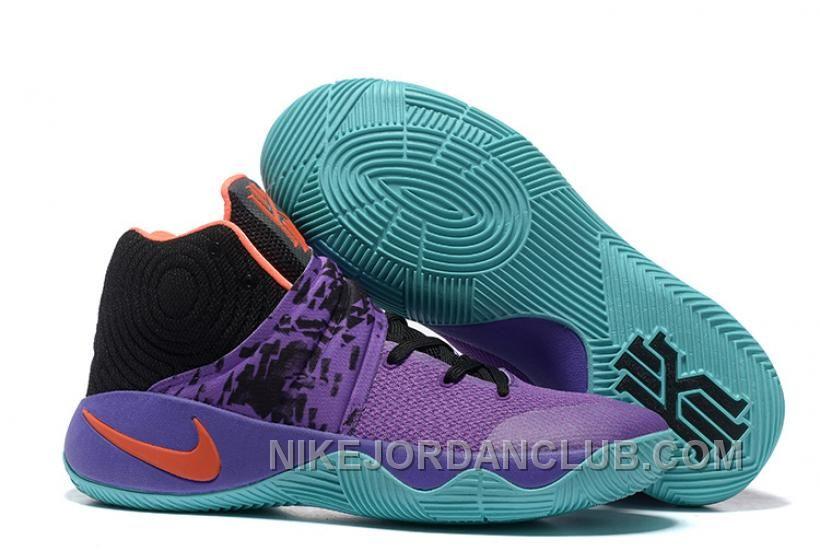 """2c6c376412ca22 Buy """"Easter"""" Nike Kyrie 2 Purple Orange Black Men s Basketball Shoes New  Style from Reliable """"Easter"""" Nike Kyrie 2 Purple Orange Black Men s  Basketball ..."""