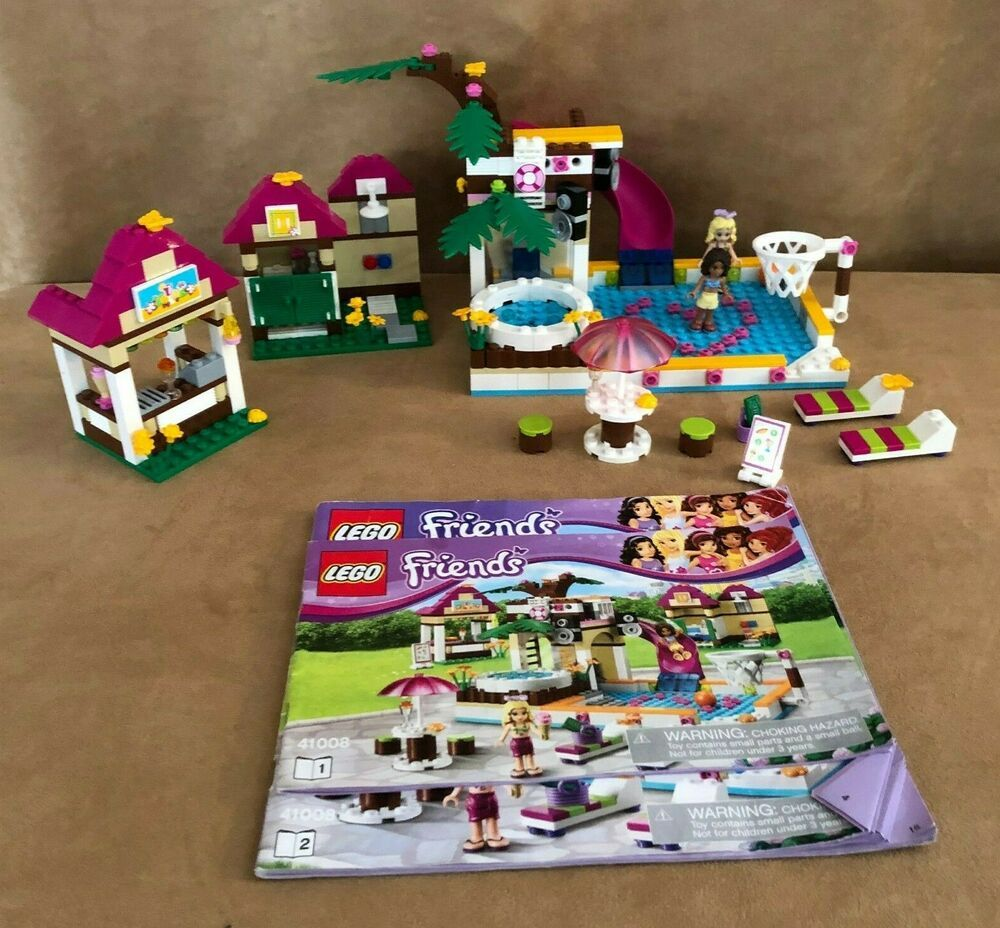 41008 Lego Complete Friends Heartlake City Pool Swimming