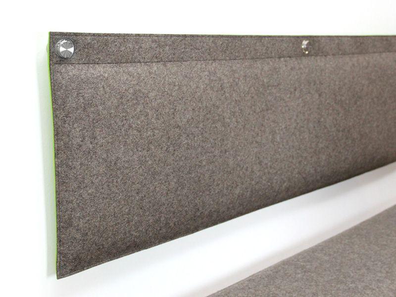 wohnen wandkissen gepolstert aus wollfilz nach ma diy pinterest wohnen bett und kopfteile. Black Bedroom Furniture Sets. Home Design Ideas