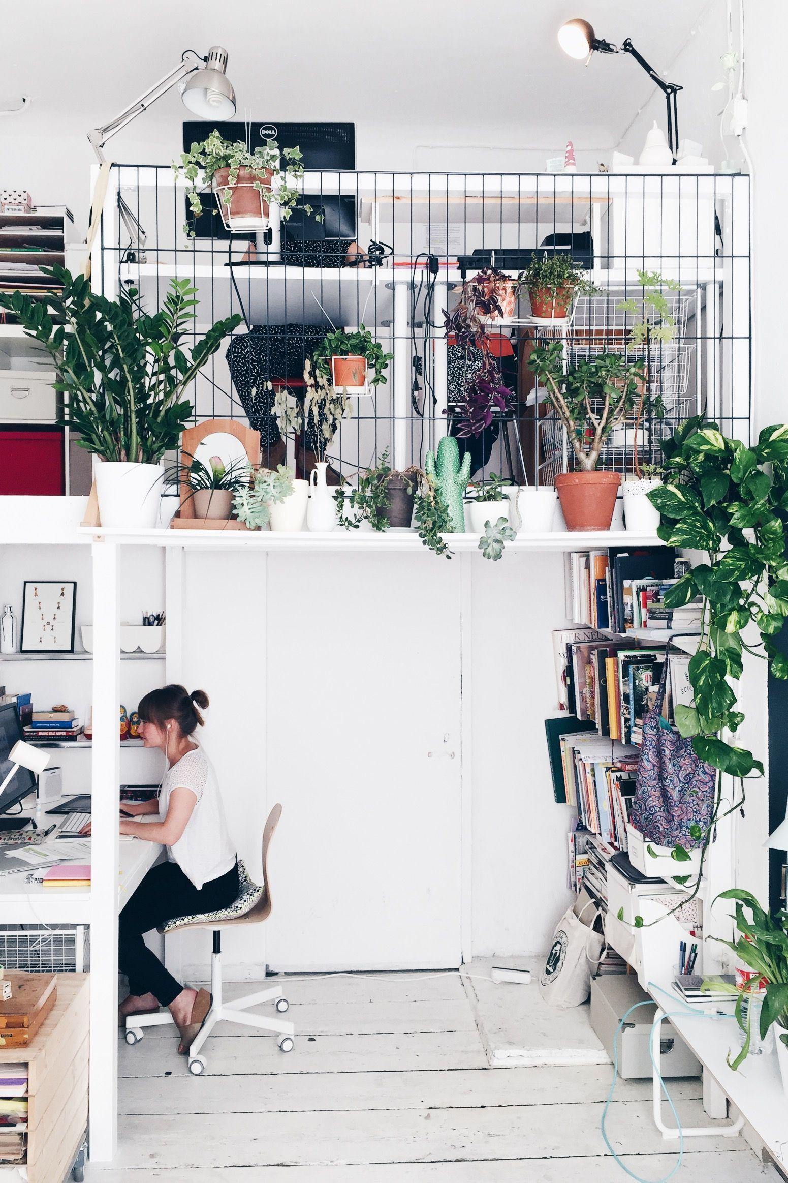 Innenarchitektur wohnzimmer für kleine wohnung the studio plants all over  design  pinterest  haus wohnen und