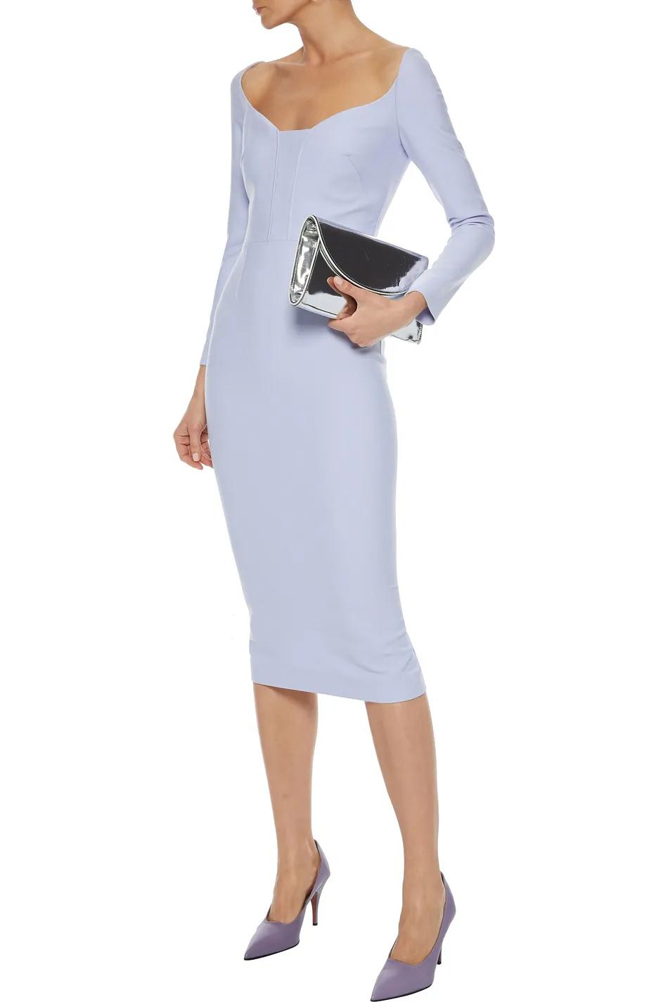 Lilac Ardon Stretch Crepe Midi Dress Sale Up To 70 Off The Outnet Roland Mouret Roland Mouret Dress Fashion Midi Dress Sale [ 1425 x 950 Pixel ]