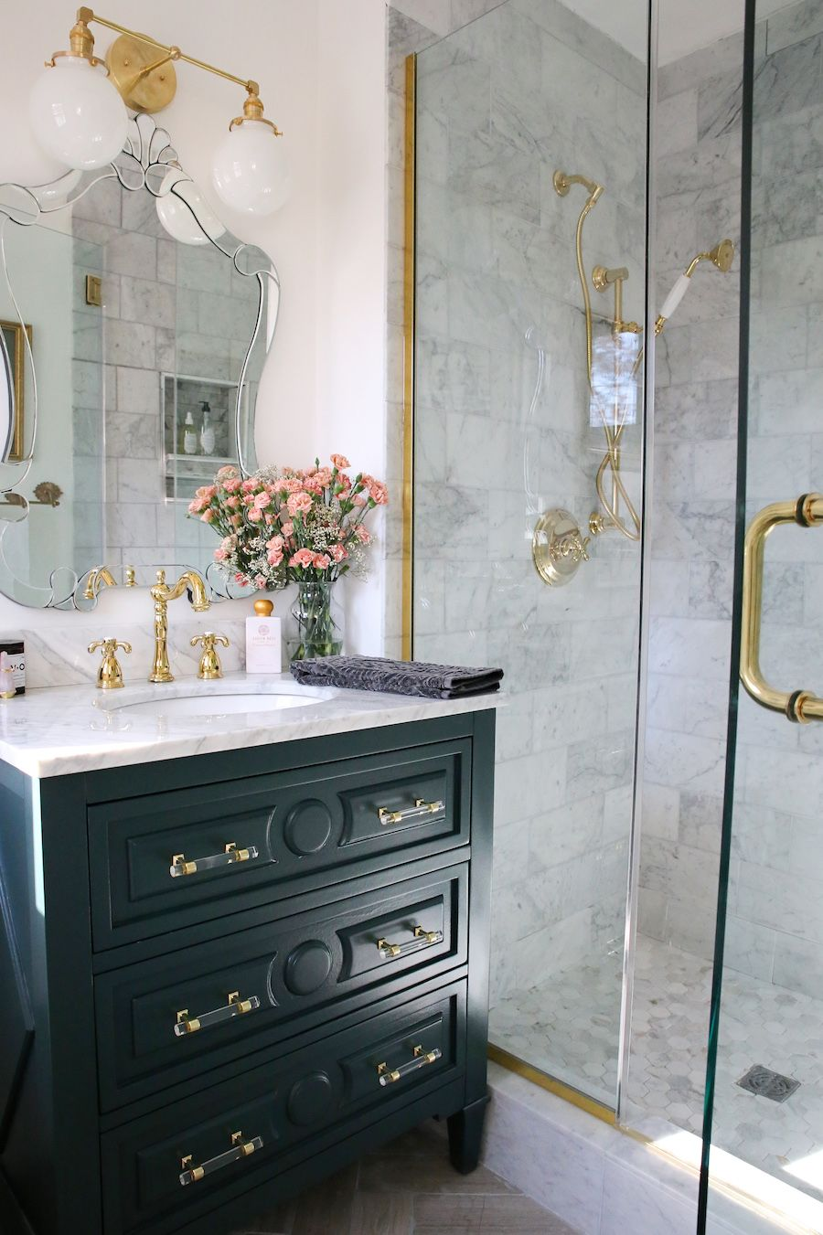 We See A Lot Of Bathroom Remodels But This One Takes The Cake Bathroom Renovation Diy Bathroom Interior Design Traditional Bathroom