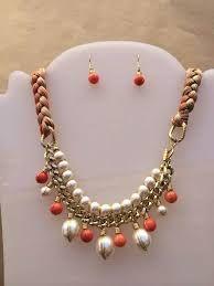 Resultado de imagen para diy collares cadenas y perlas