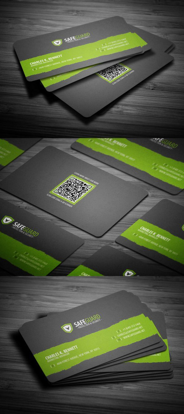 Free Rounded Corporate Business Card By Flowpixel On Deviantart