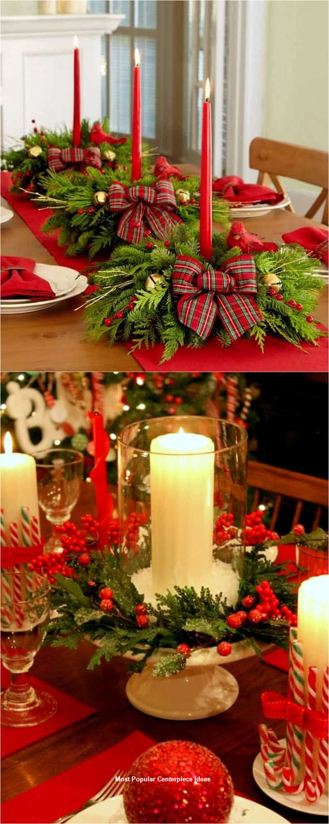 23 Christmas Centerpiece Ideas That Will Raise Everybodys Eyebrows