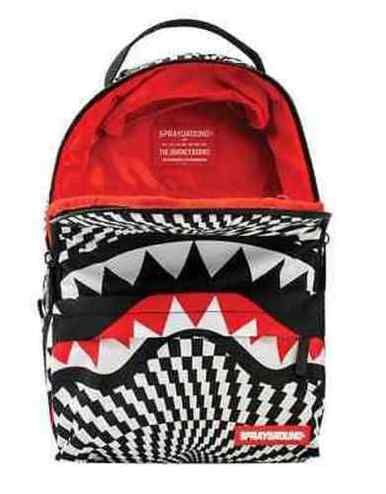 SPRAYGROUND LIL MINI TRIPPY SHARK DOPE URBAN SCHOOL BOOK BAG ...