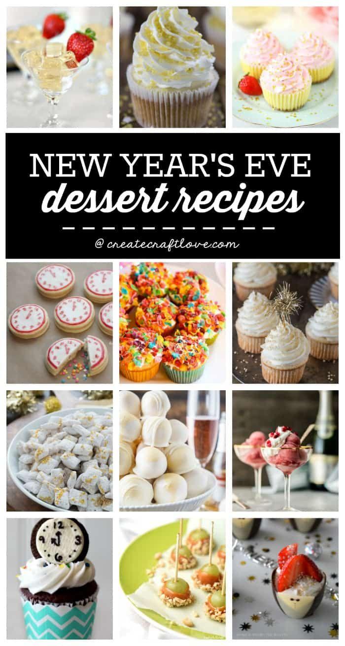 New Years Eve Menu | Recipes - Create Craft Love
