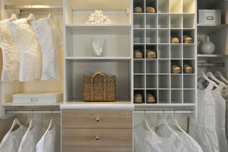 Her Master Closet / Home Office Remodel   Contemporary   Closet   Austin   California  Closets Of The Texas Hill Country
