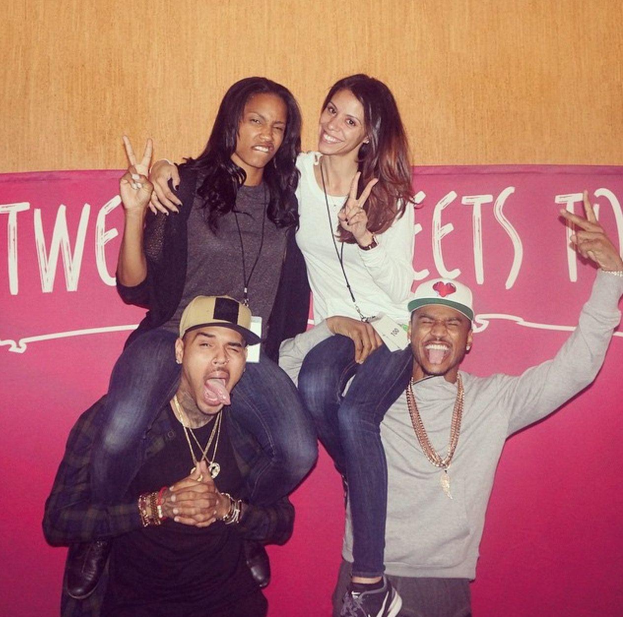 Trey Songz N Chris Brown Tr Don R Pinterest
