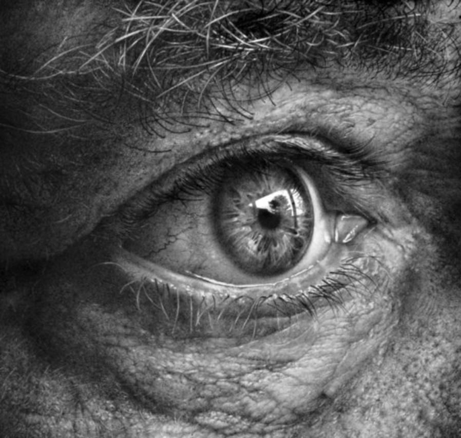 ''Through The Iris I'' by Armin Mersmann (Remscheid, Germany)