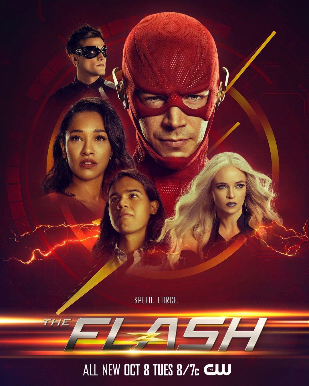 The Flash TV Series Superhero Art Silk Poster 12x18 24x36