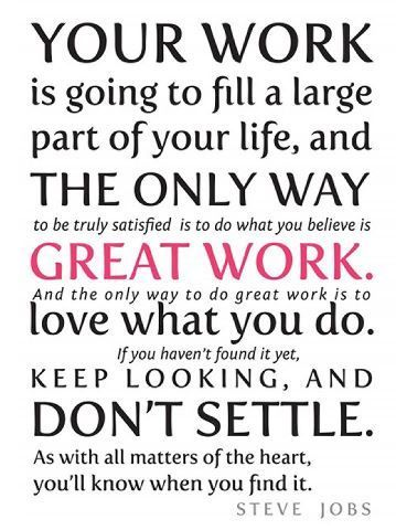 follow your dreams,quotes,going to school | Job quotes, Work ...