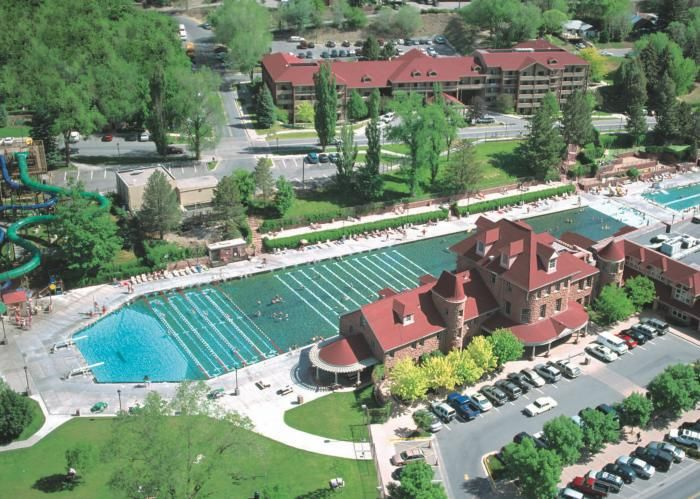 Glenwood Hot Springs Lodge The Hotel At Pool Fun For Family