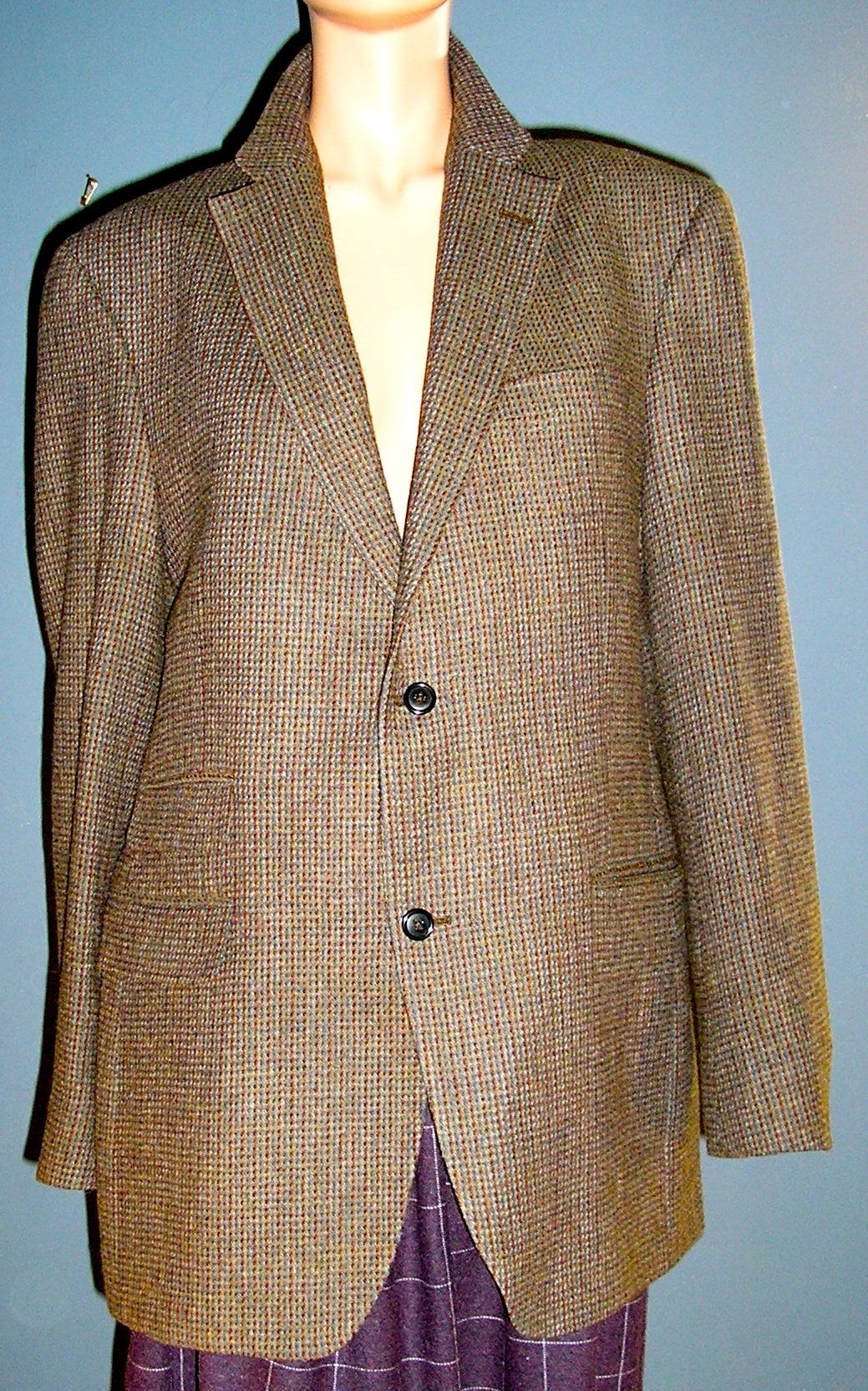 Vintage Austin Reed Wool Tweed Blazer Jacket London Etsy In 2020 Vintage Austin Austin Reed Tweed Blazer
