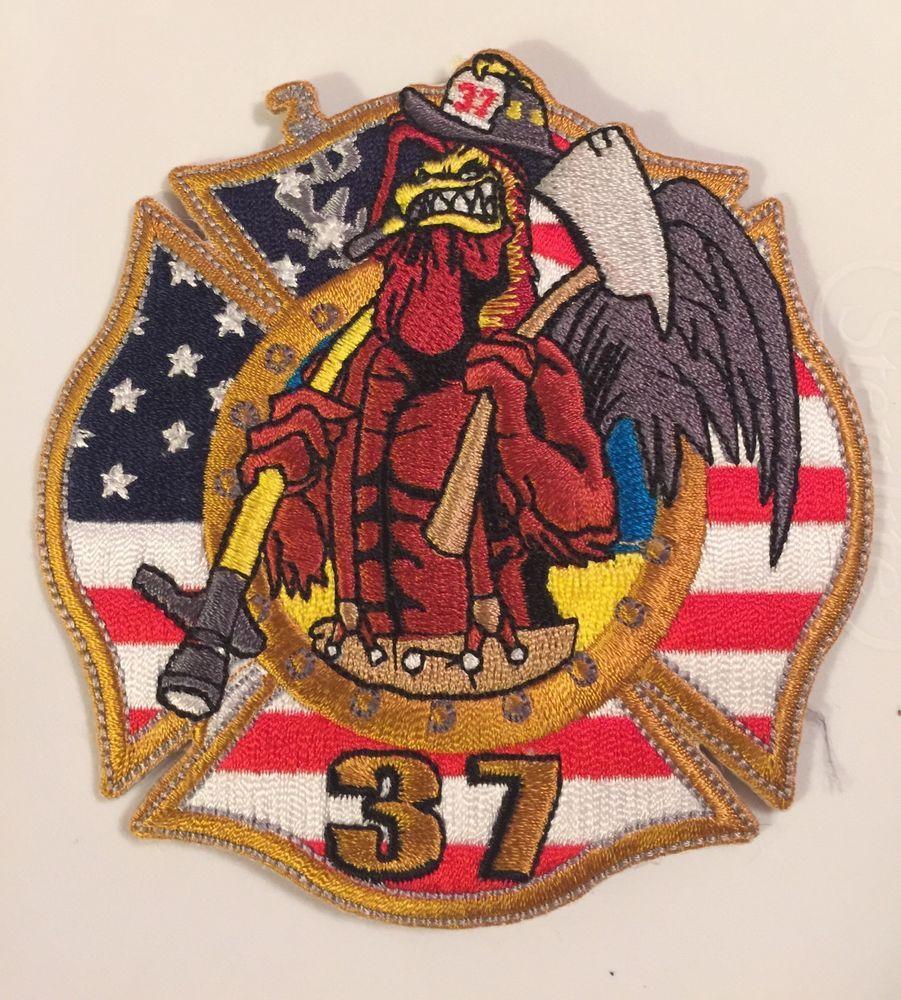Miami dade fire dept station patch 37 batt aerial engine