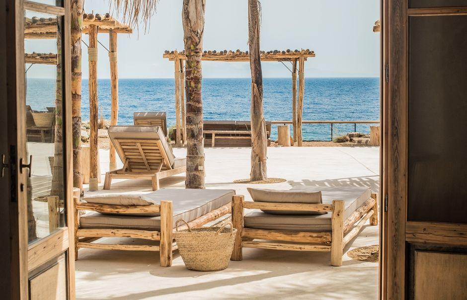 Quelques jours à Mykonos Casas de playa, Casas y Hotel