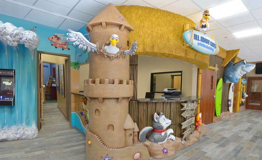 Beach Theme For Pediatric Dentist Imagination Dental Solutions