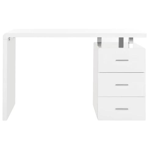 Orrin 3 Drawer Desk White Safavieh Desk With Drawers White Desks Home Office Furniture